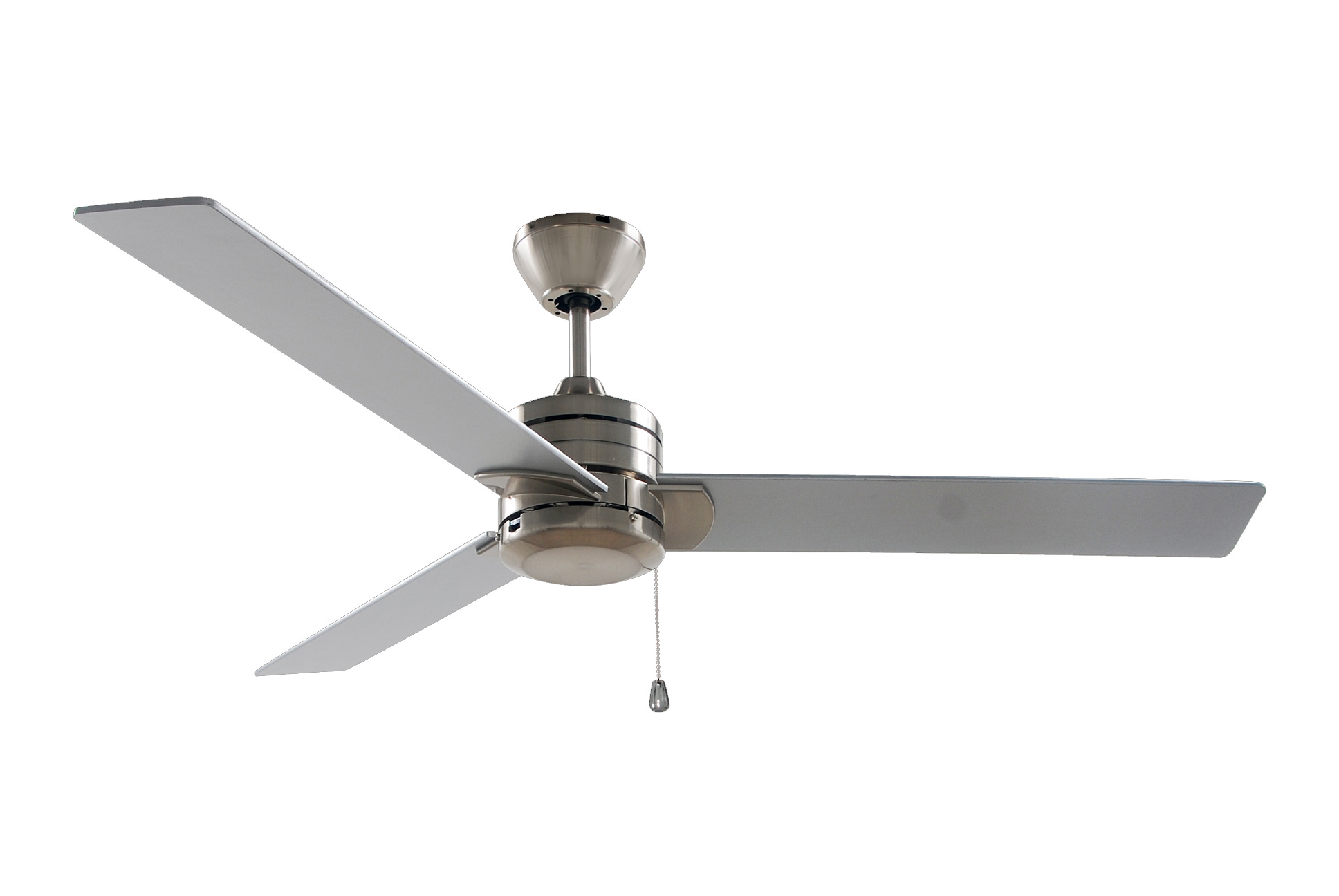 Sylaska 1.27m Blades - Reversible Ceiling Fan - Brushed Nickel
