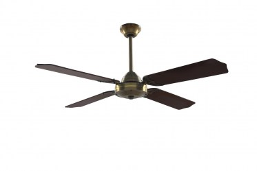 Sylaska 1.22m Blades - Reversible Ceiling Fan - Antique Brass